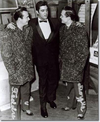 The Wilburn Brothers : Teddy Wilburn, Elvis, Doyle Wilburn.