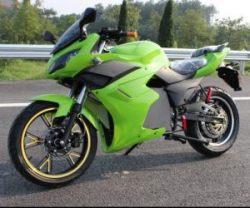 Электромотоцикл цена от 1690$ .ElWinn EM-123 зеленого цвета