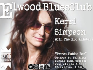 Kerri Simpson at the Elwood Blues Club