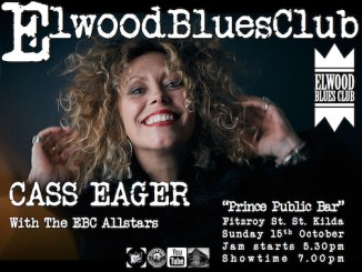 Cass Eager at Elwood Blues Club