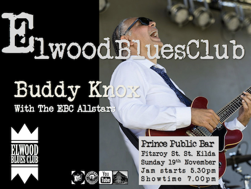 Buddy Knox at Elwood Blues Club