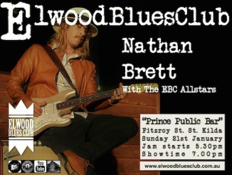 Nathan Brett at Elwood Blues Club