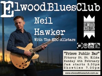 Neil Hawker at Elwood Blues Club