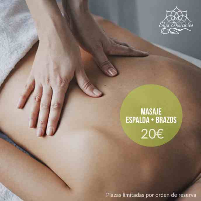 masaje castelldefels oferta