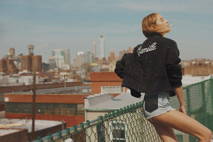 Camille Rowe for So it goes Mag b