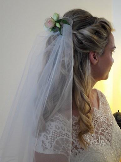 voilage mariée