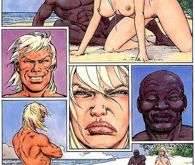 Interracial Cartoons Interracial Porn