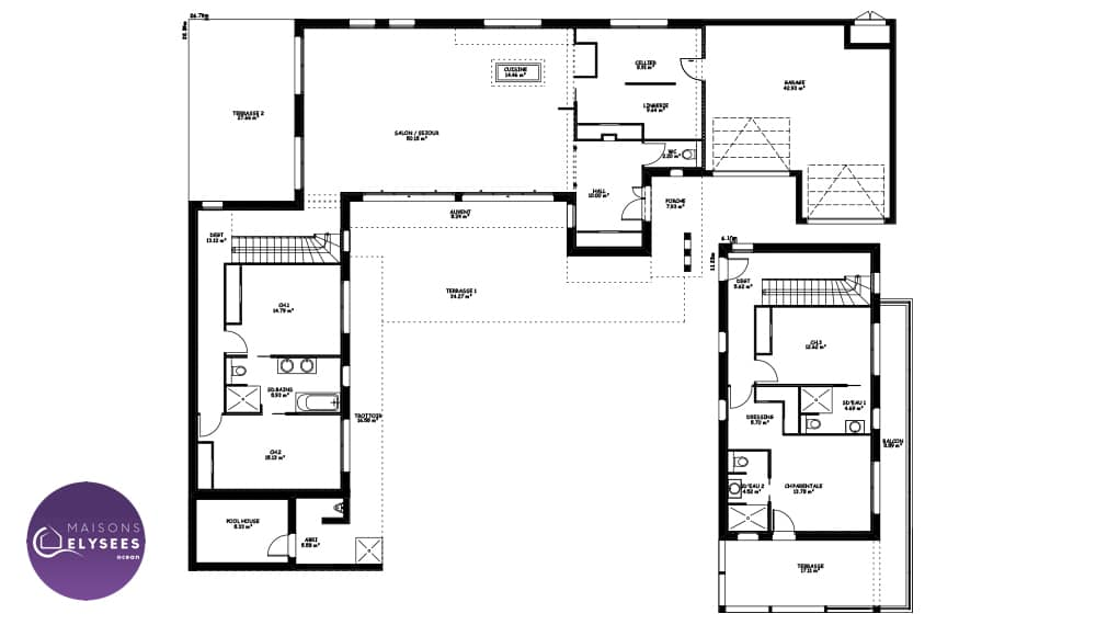 Plan Maison Californienne IO11 Jornalagora
