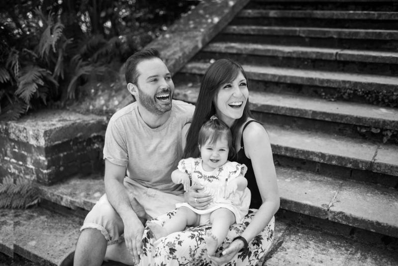 family photography in a london park