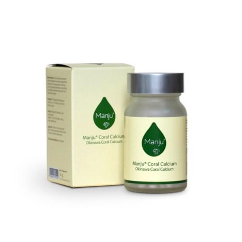 Produktbild Manju Coral Calcium Vitamin K2 und D3