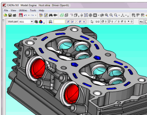 EMA3D allows for CAD to CAE workflow with automated defeaturing and repair