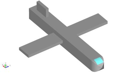 airplane-model-before- lightning-EM-simulation