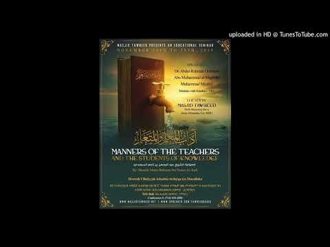 Q A Advice to those teaching children Quran VT - Sheikh