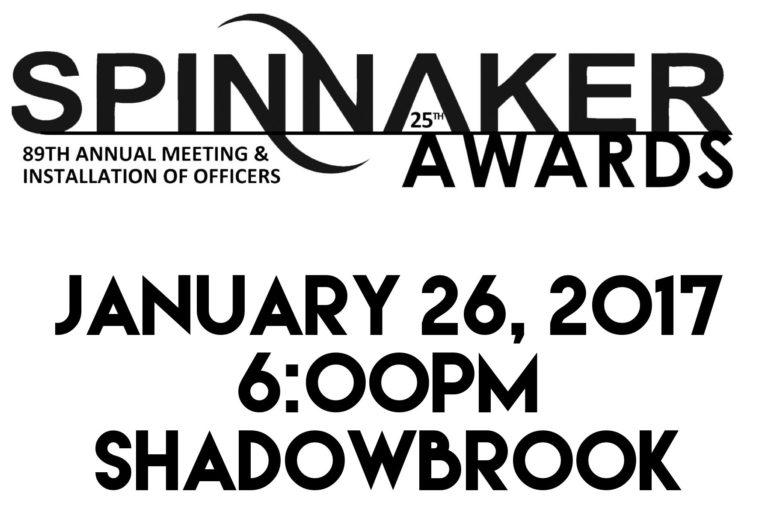 Spinnaker Awards Dinner 2017