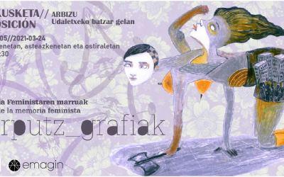 'Gorputz_grafiak: memoria feministaren marruak erakusketa' Arbizun