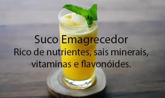 suco emagrecedor de abacaxi