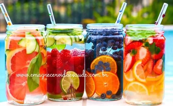 Beneficios das aguas aromatizadas