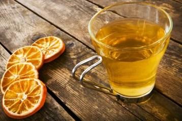cha detox de laranja e gengibre