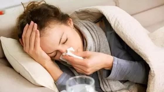 O que pode causar picos de glicemia - Resfriado