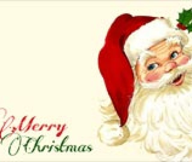 Christmas Email Backgrounds Santa Merry Christmas