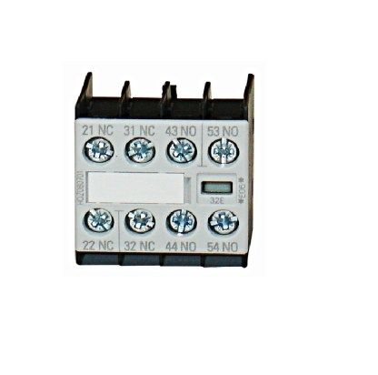Aux. Contact 2NO 2NC size 00, for contactor with 1 NO contact on