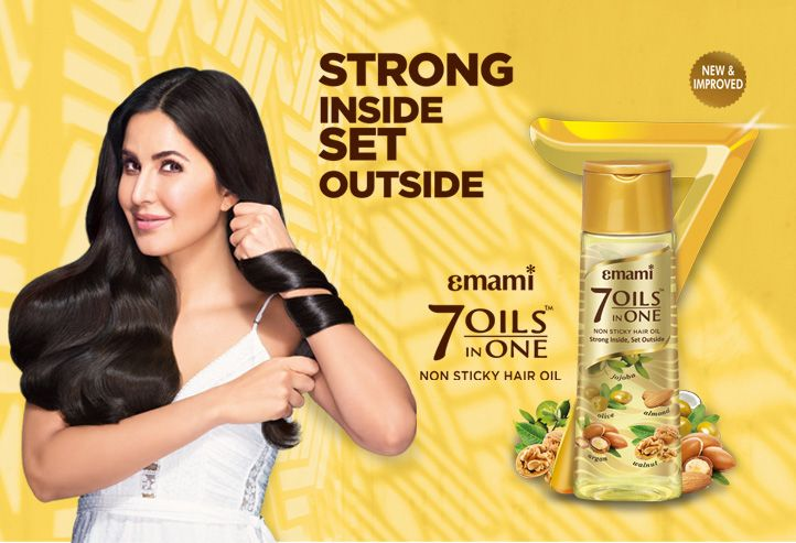 7 Oils In One Damage Control Hair Oil Emami Ltd