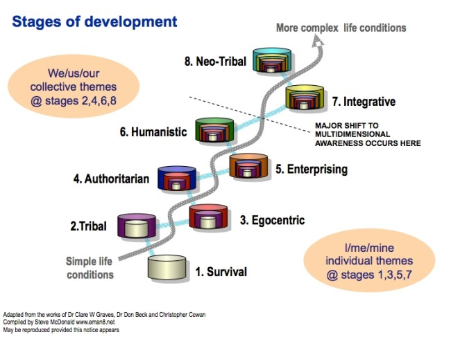 Figure 1. Stages of development