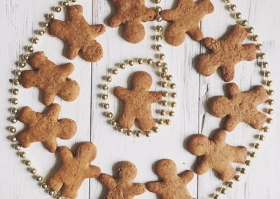 GINGERBREAD COOKIES / GF + VEG