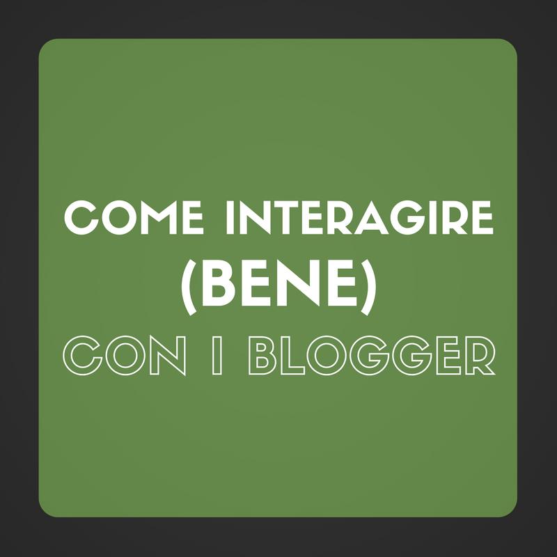 interagire blogger