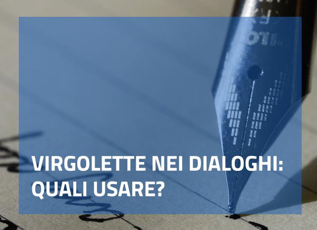 virgolette dialoghi