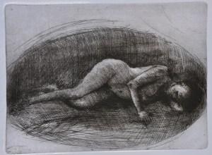 Emanuele Convento - Onirica, 2007, acquaforte, 2007, mm 275 x 375