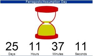 Ferragosto countdown