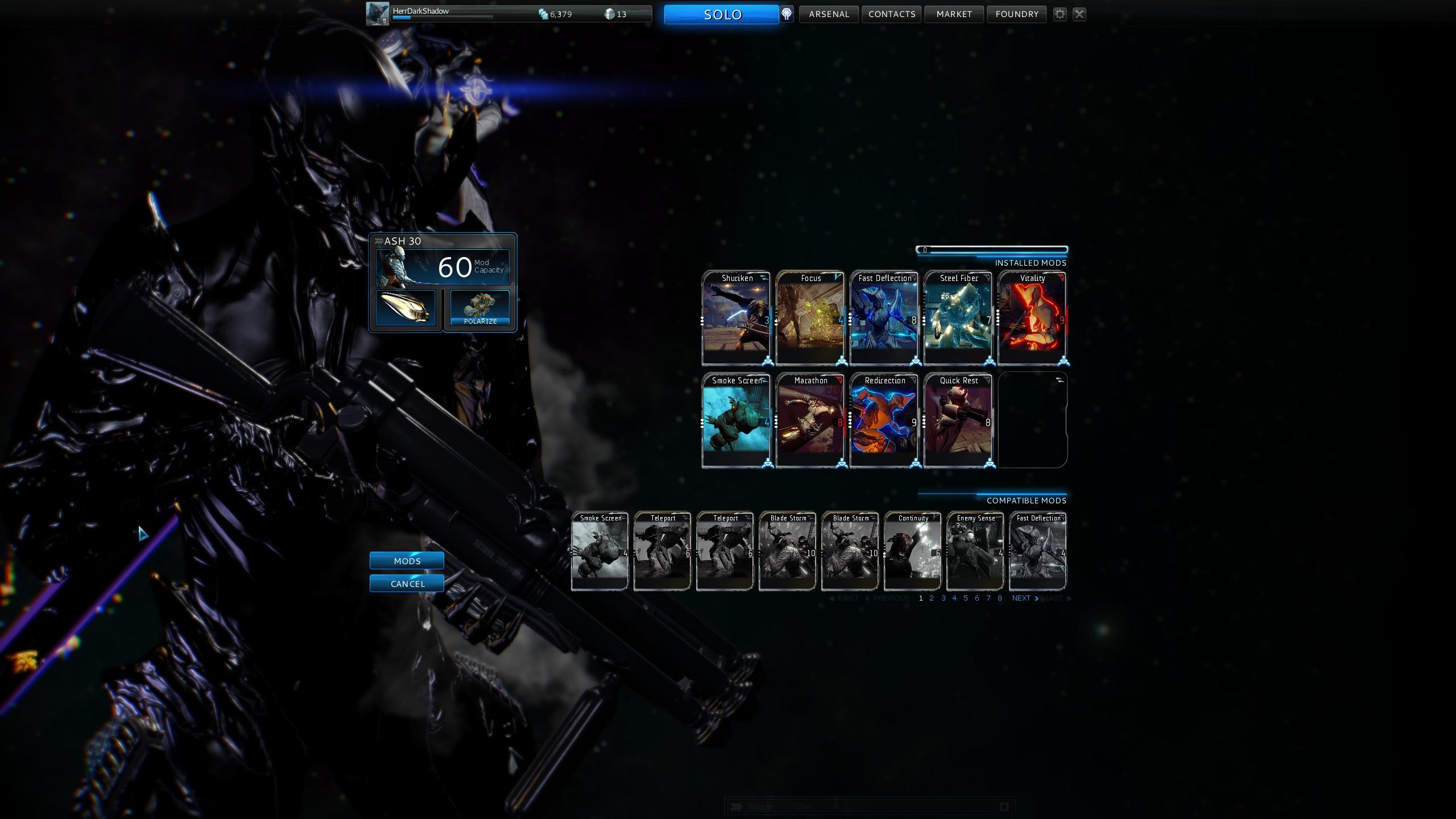 Warframe V VI Like Mass Effect With Jumping