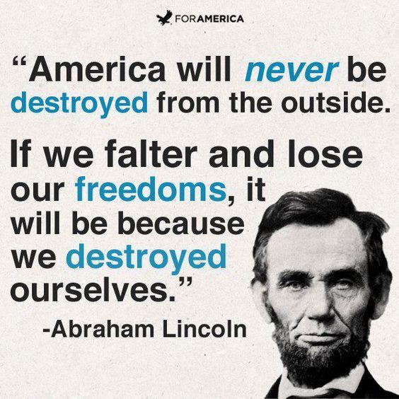 God save America!