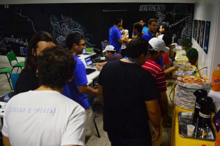 Participantes do Contributor Day no WordCamp Fortaleza 2016