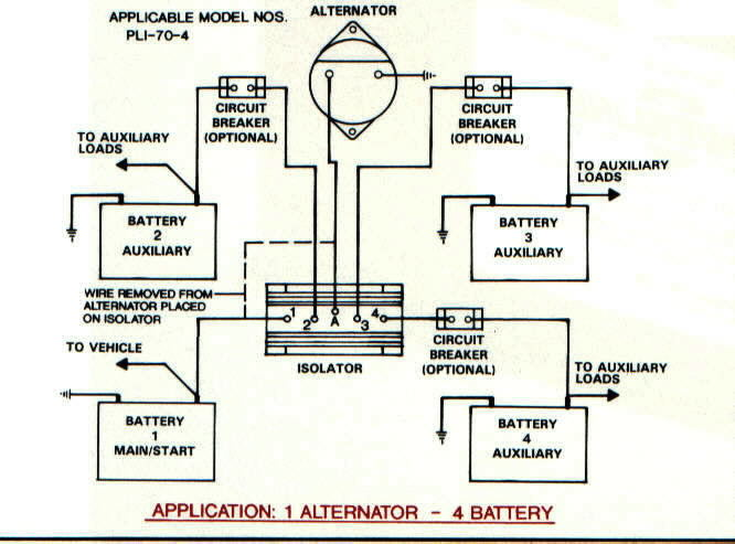 multi battery isolator model 12023a wiring diagram: sure power battery  isolator wiring diagram model 952