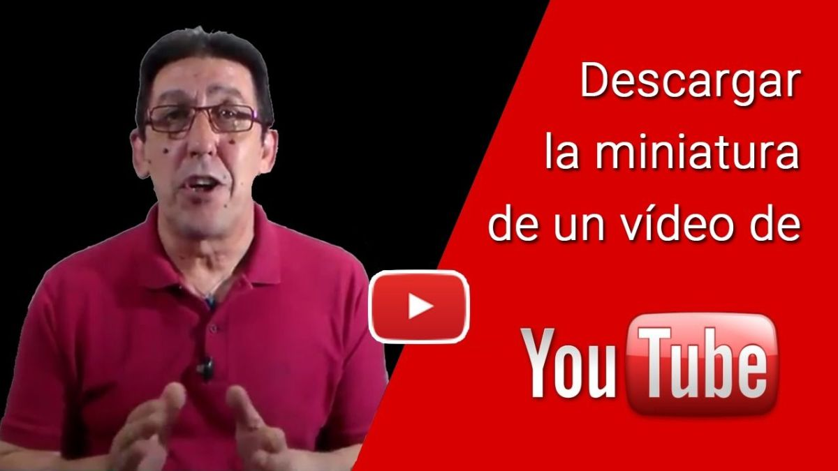 Como descargar una miniatura de Youtube