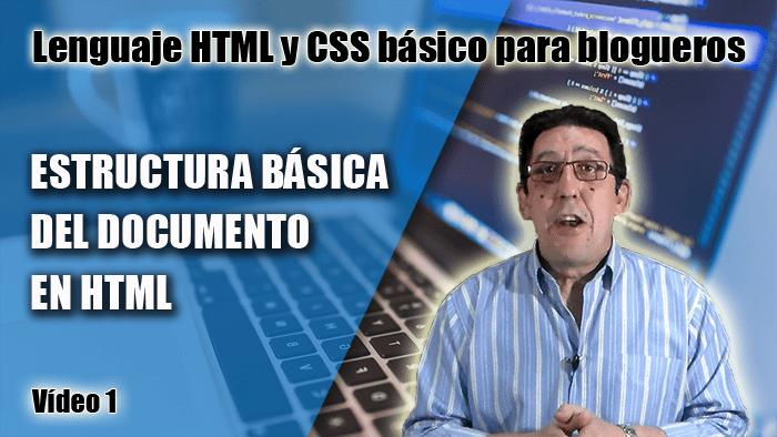Estructura básica de un documento HTML