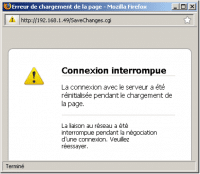Samsung - erreur de connexion wifi