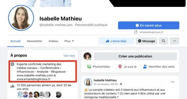 facebook-page-description