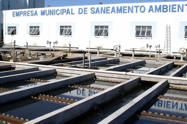 Estação de Tratamento de Água -ETA da Emsa Itabuna - Foto Divulgação 2
