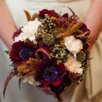 69 Stunning Fall Wedding Bouquets