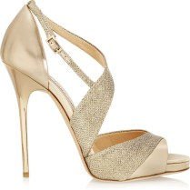 6 Stylish Gold Wedding Shoes To Show Off