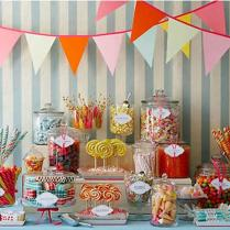 Candy Bar Ideas For Your Kid's Birthday — Bathroom Decorations