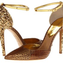 Dsquared Gold Wedding Shoes