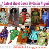 Latest Short Gown Styles African Nigerian Outfits For Occasions