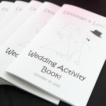 Printable Personalized Wedding Activity & By Anyoccasioncreation