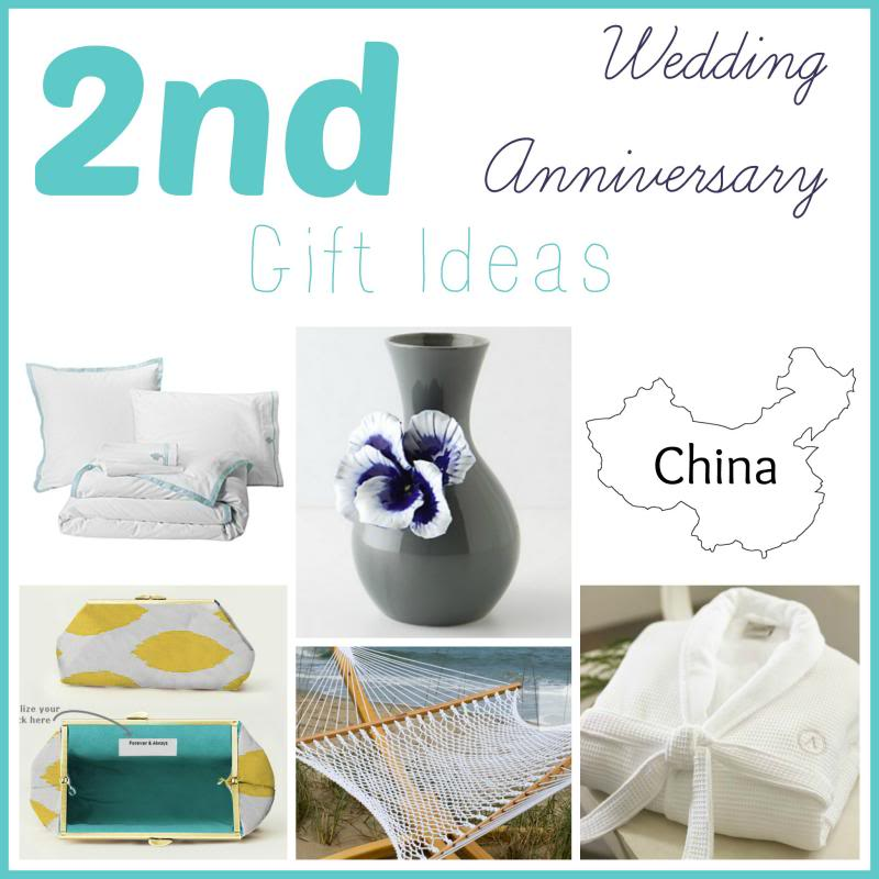 Second Year Wedding Anniversary Gift