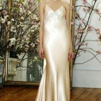 Silk Slip Wedding Dress
