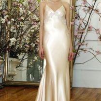 Silk Slip Wedding Gown From El